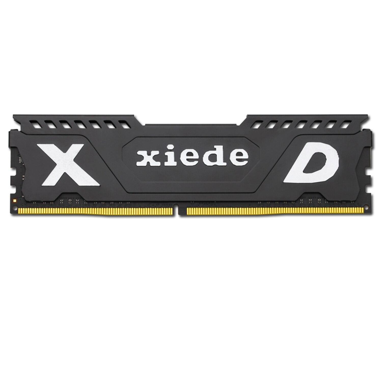 Xiede ordinateur de bureau mémoire vive Module Ddr4 2666 Pc4-2666V 288Pin Dimm 2666 Mhz Avec dissipateur de chaleur Pour Amd/Inter