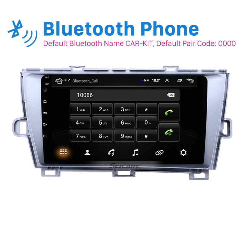 Seicane Android 8.1 For Toyota Prius 2009 2010 2011 2012 2013 Left hand driver 2 Din Car radio Multimedia Player GPS Mirror linkSeicane Android 8.1 For Toyota Prius 2009 2010 2011 2012 2013 Left hand driver 2 Din Car radio Multimedia Player GPS Mirror link