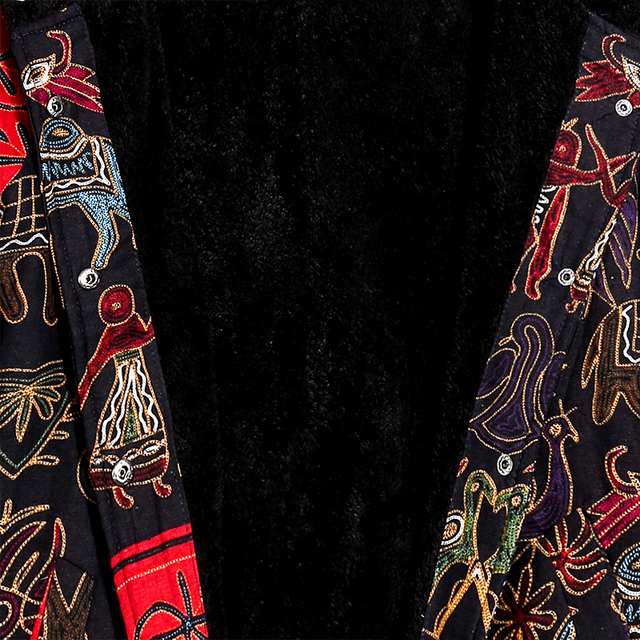 5XL Plus Size Thick Winter Women Coat Fashion Oversize Hooded Long Sleeve Fleece Lined Warm Parka Vintage Ladies Winter Jacket 5