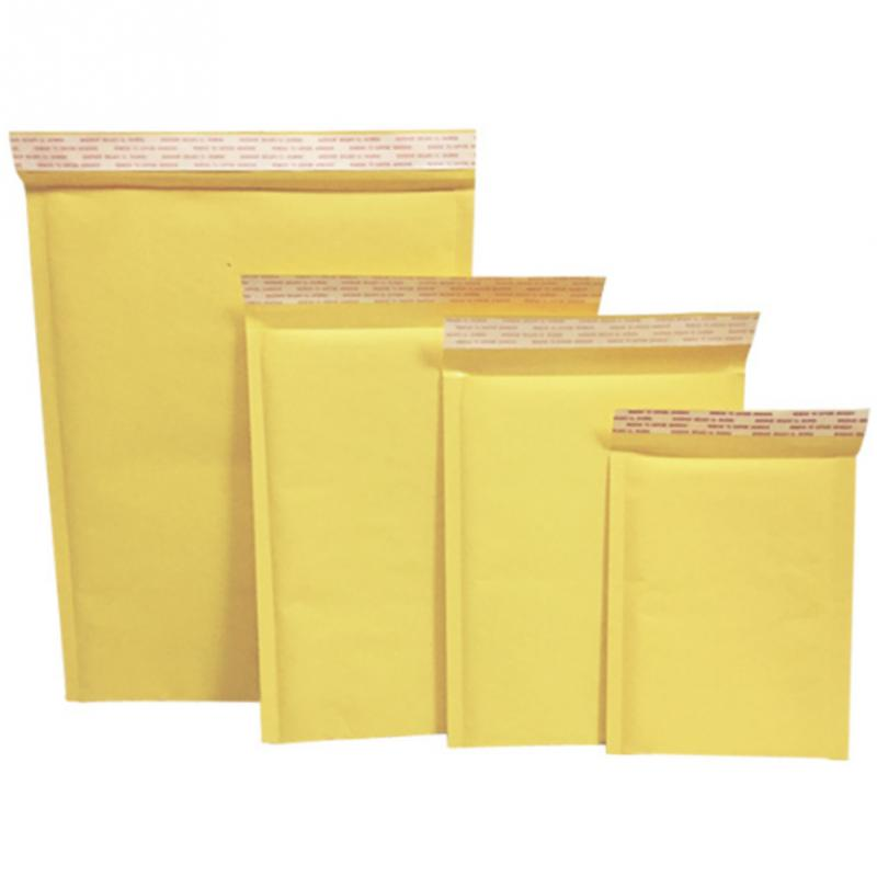 10pcs Kraft Paper  Envelopes Bags Mailers Padded  Envelope With  Mailing Bag Business Supplies(China)