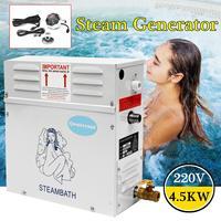 Portable Steam Generator Sauna Bath Home Spa Digital Controller Sauna Room Steamer ST 135M Household Steam Machine 220V 4.5KW