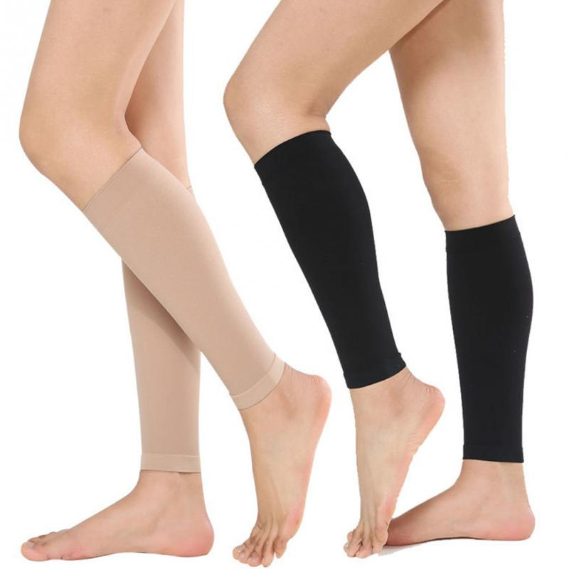 Women Men Calf Compression Stockings Varicose Veins Treat Shaping Graduated Pressure Stockings #0213