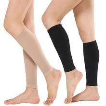 Women Men Calf Compression Stockings Varicose Veins Treat Shaping Graduated Pressure #0213