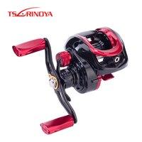 TSURINOYA Fishing Reel XF 50 150 Bait Casting Reel 6.6:1 4kg Drag Power 9+1BB Two Spool XF Spare spool Lightweight Lure Reel