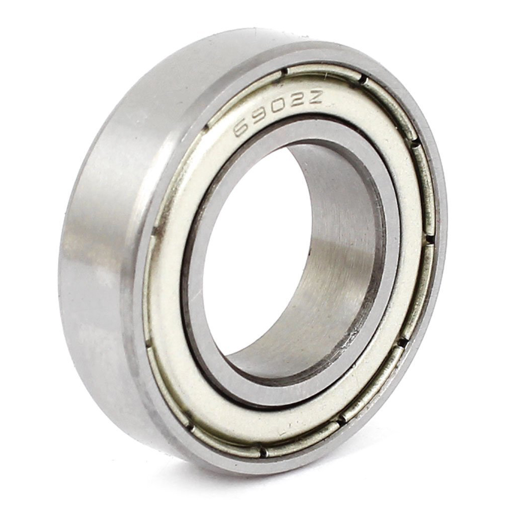 6902Z 15 X 28 X 7mm Metal Shielded Miniature Deep Groove Radial Ball Bearing