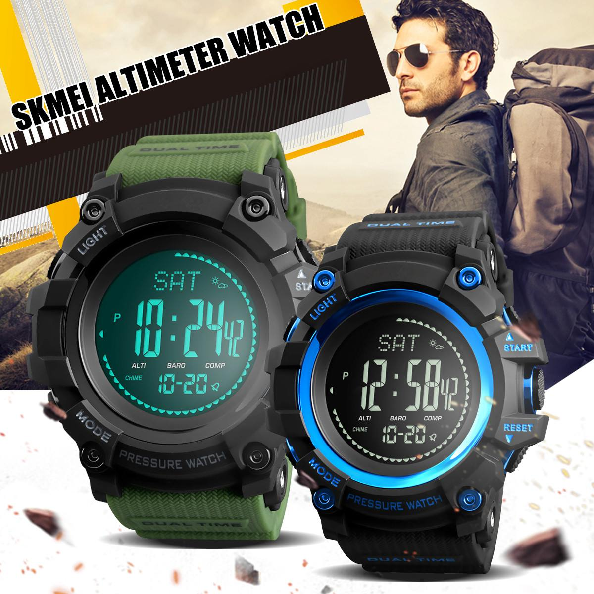 Waterproof Sports Mens Watch Altimeter Pressure Weather for Compass Military 1358Waterproof Sports Mens Watch Altimeter Pressure Weather for Compass Military 1358