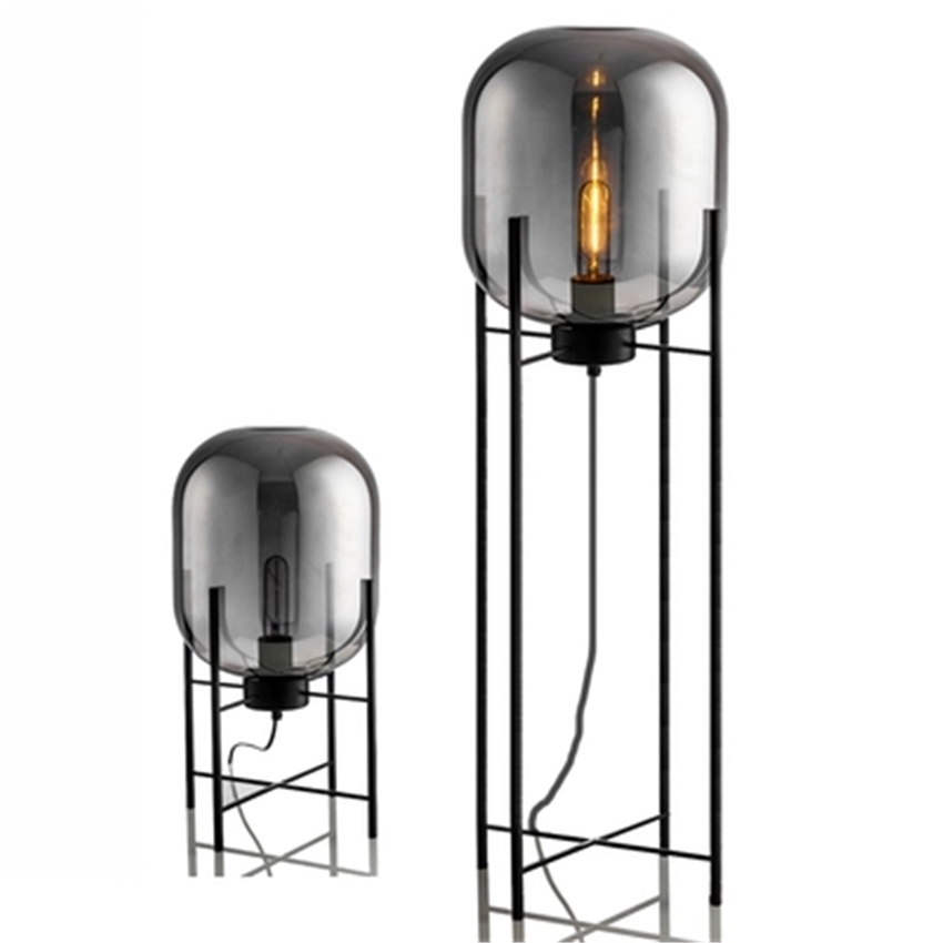 Modern Glass LED Floor Light Vloerlamp Standing Lamp