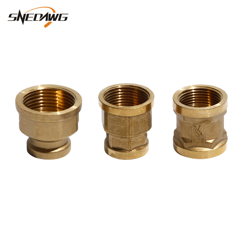 Brass <font><b>Pipe</b></font> Fitting 20/25/<font><b>32mm</b></font> Female Thread <font><b>Pipe</b></font> Joint Fitting 1/2'' 3/4'' 1''Water Oil Gas Brass <font><b>Pipe</b></font> Fitting Connector image