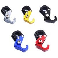 Universal 22MM Racing Scooter Handlebar Hook Helmet Luggage Bag Hanger Carrier For Honda Kawasaki Suzuki Yamaha