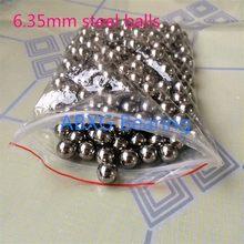 50 pces 6.35mm 6.35 4mm 5mm 6mm 8mm 9mm 10mm g10 bicicleta ciclismo esferas de aço rolamento tom prata bicicletas substituição bolas