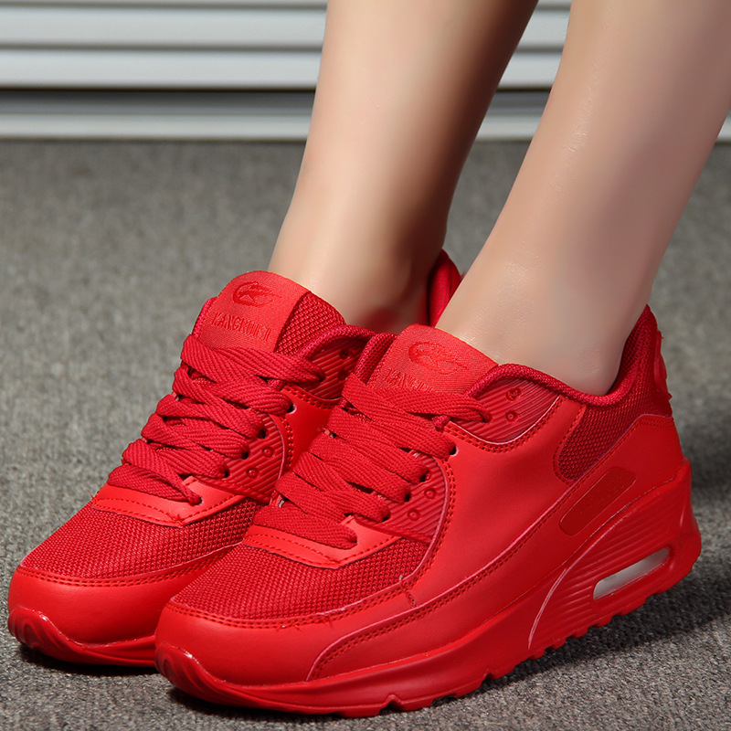 Pink Breathable Air Casual Shoes Women