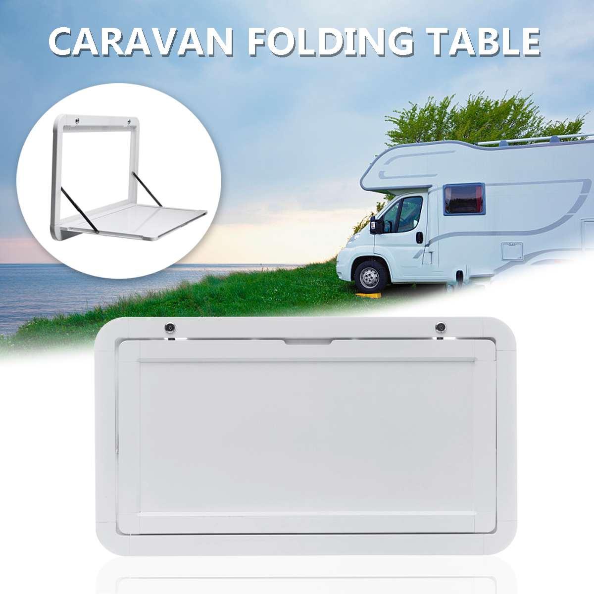 Autoleader caravane blanc pique-nique Camping pliant Table extérieure 800x450mm Camping-car RV pour Camping-cars caravane