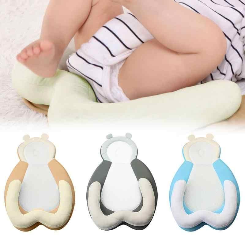 Lindo oso portátil cuna de bebé almohada de sueño multifuncional guardería viaje almohadilla de posicionamiento cama de bebé plegable cuna infantil