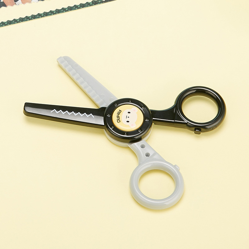 1PC Cute Cat Rabbit Craft Scissors Kawaii Cartoon Scrapbooking Safety Scissors For Kids Gifts School Office Supplies Stationery