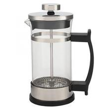 Компактный размеры Ho применение держать применение нержавеющая сталь стекло Френч-пресс фильтр кофейник Чай Кофе Maker инст
