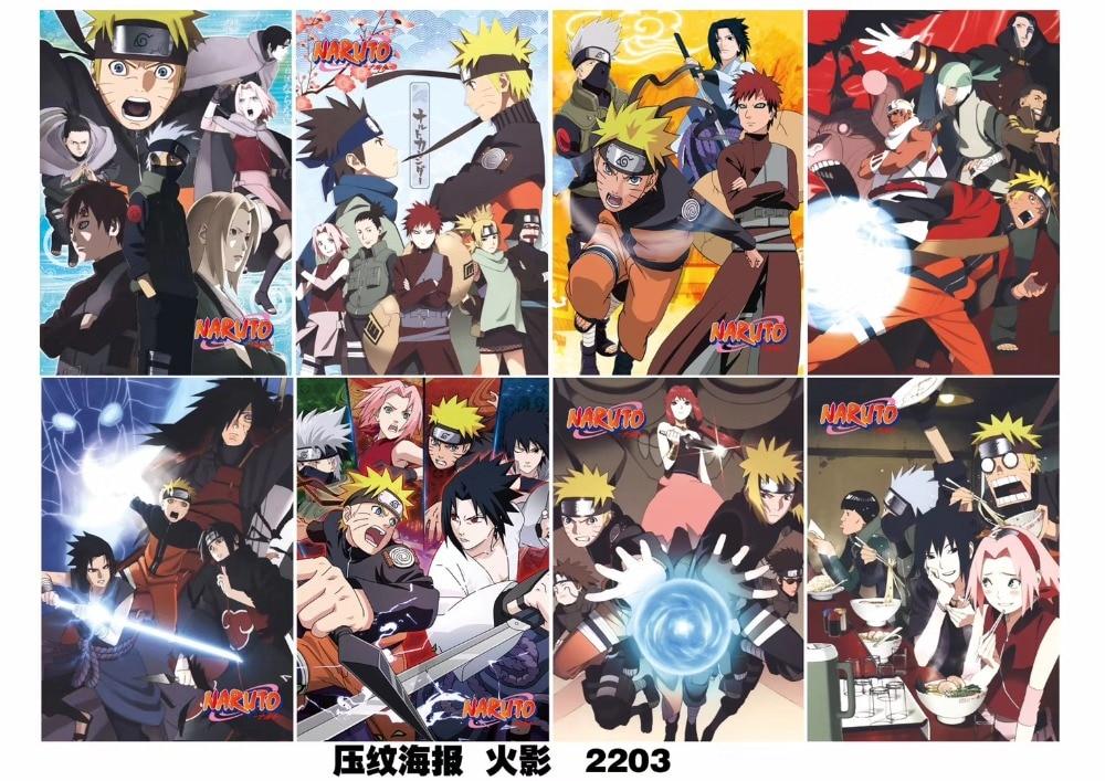 Mieszane 800 sztuk/partia Anime mój Hero Academia jeden kawałek Fairy Tail tokio ghul Naruto Noragami nie gra nr życie plakat zestaw 42X29 CM w Figurki i postaci od Zabawki i hobby na  Grupa 1