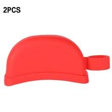 2 шт./компл. бака силикона Кухня инструмент горшок ручки крышки теплоизоляция Holding ручка термостойкие кастрюля рукав для захвата сковороде сцепление