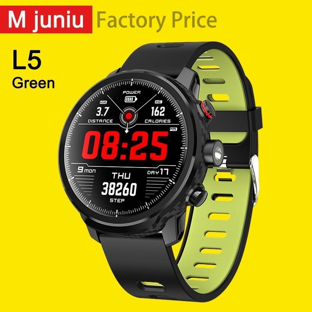 L5 Smart Watch Men Ip68 Waterproof Multiple Sports Mode Heart Rate Weather Forecast Bluetooth Smartwatch Standby 100 Days clock