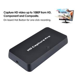 Image 2 - Ezcap 295 HD לכידת וידאו 1080P מקליט USB 2.0 השמעה לכידת כרטיסי w/מרחוק חומרה H.264 קידוד עבור xbox אחד PS4