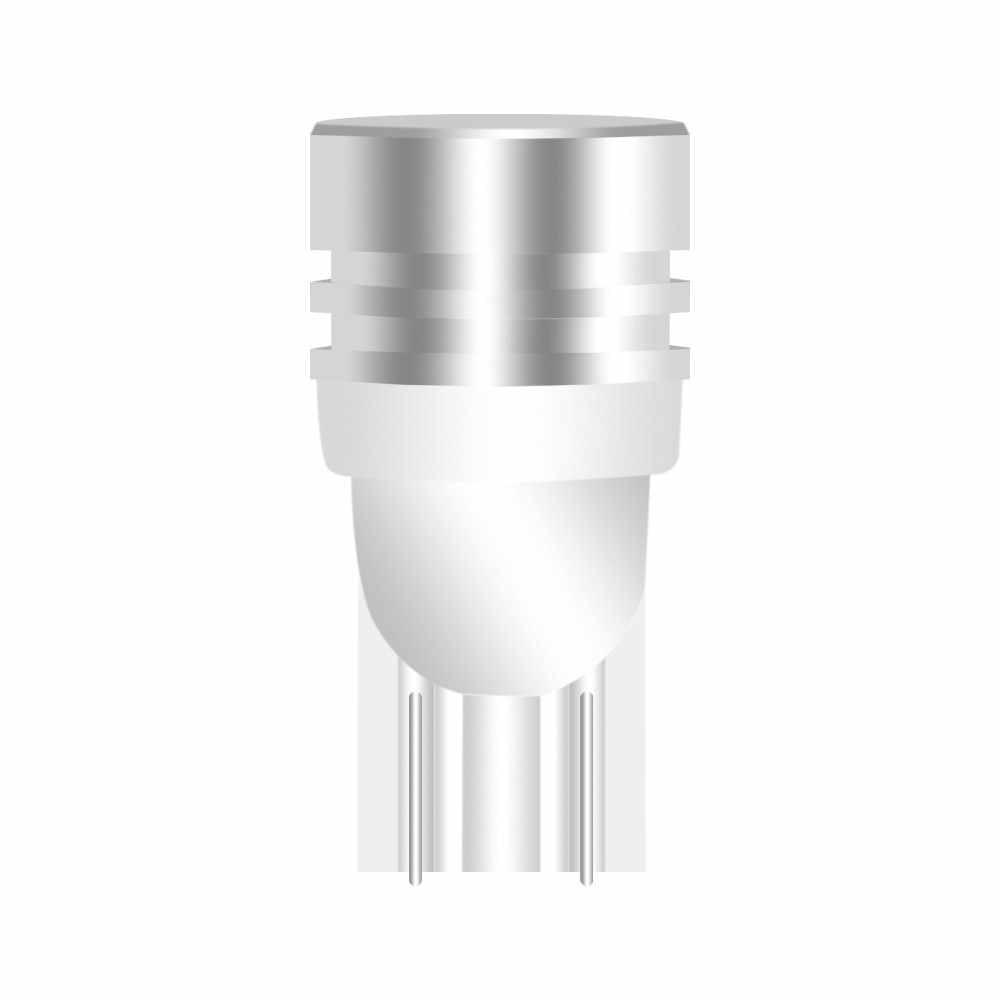 1 Piece Car Interior LED T10 COB W5W 168 Wedge Door Instrument Bulb Lamp Car Light White