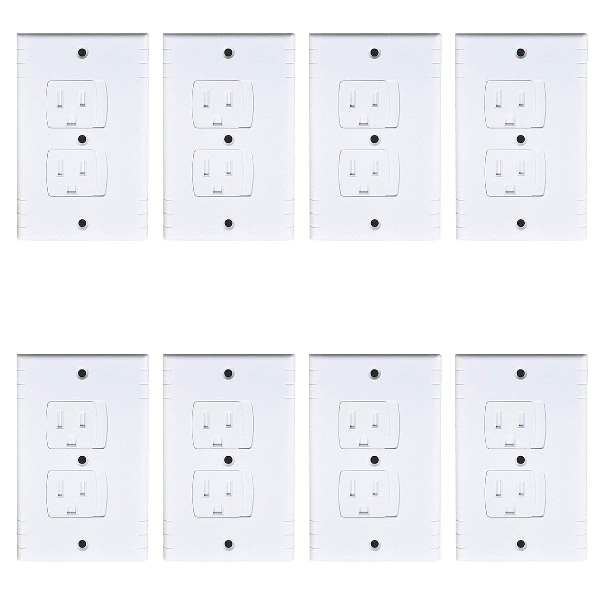 Hot Sale Universal Self Closing Electrical Outlet Covers