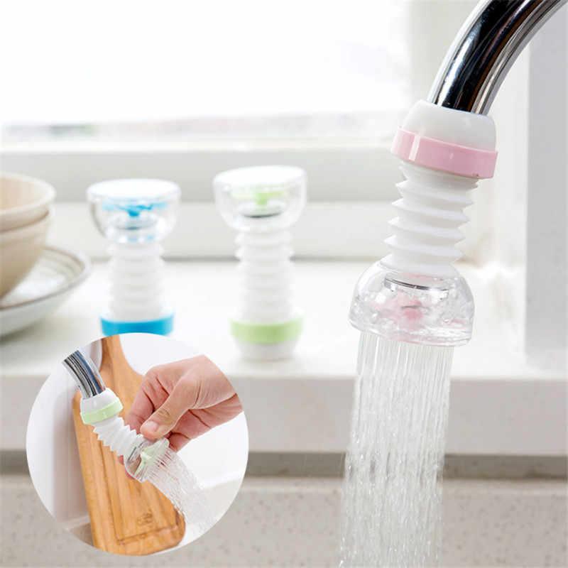 WSOMIGO кухонные аксессуары 1 шт. регулируемые разбрызгиватели для крана кран перфорированный фильтр кран регулятор воды экономичный гаджет-S