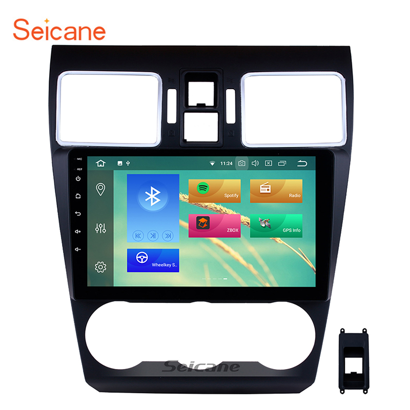 Seicane 9 inch Android 9.0  Car Radio Stereo Audio Multimedia Player GPS Head Unit For 2014 2015 2016 Subaru WRX forester