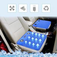 1PC Automobiles Seat Covers Car Seat Cover For Car Seat Summer Car Cooling Cushion With USB Breathable Cushion Covers For Car