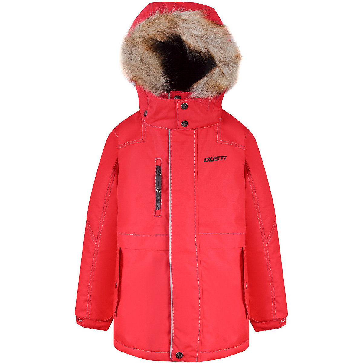 GUSTI Down & Parkas 9511936 jacket for girls winter outerwear children jackets boys clothing icebear 2018 new men s winter jacket warm detachable hat male short coat fashion casual apparel man brand clothing mwd18813d