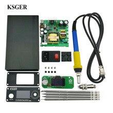 KSGER 3,0 STM32 OLED DIY Elektrische Einheit Digitale Lötkolben Station Temperatur Controller für T12 Löten Spitze