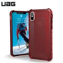 Защитный чехол UAG Plyo для iPhone X crimson