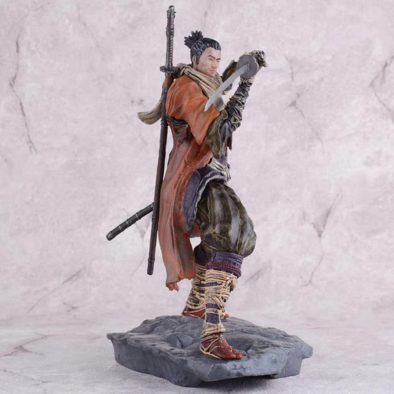 20cm SEKIRO Shadows Die Twice Game Figures Anime PVC Action Figures Toys Anime Figure Toys For Kids Children Christmas Gifts