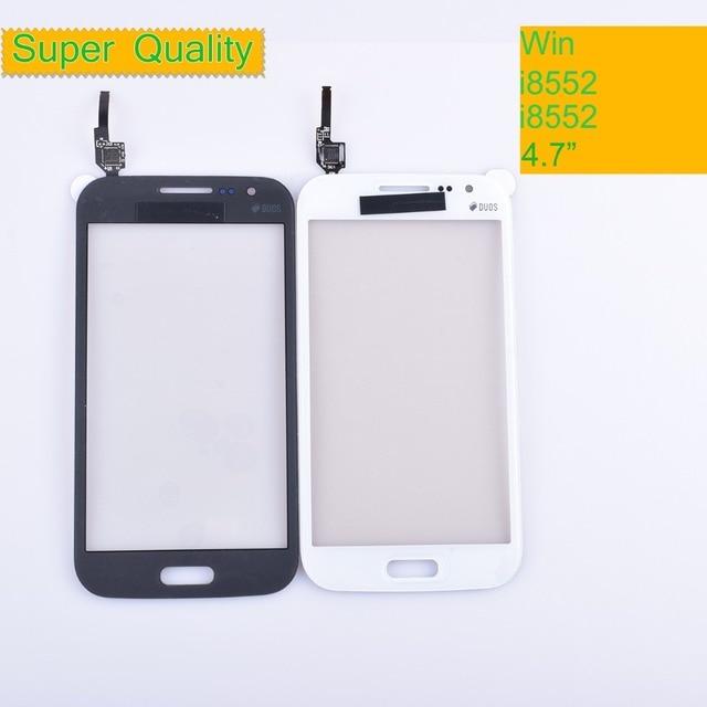 10 cái/lốc Đối Với Samsung Galaxy Win GT-i8552 GT-i8550 i8552 i8550 Màn Hình Cảm Ứng Bảng Điều Chỉnh Cảm Biến Digitizer Kính Phía Trước Ống Kính Màn Hình Cảm Ứng