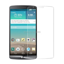 2.5D 0.26mm 9H Front Tempered Glass For LG G3 D855 D850 D851 D850 F400 VS985 Scr