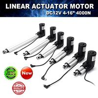 2 16 DC 12V Electric Linear Actuator Stroke Linear Motor Controller 4000N High Power Electric Motor Lifting Tool Equipment