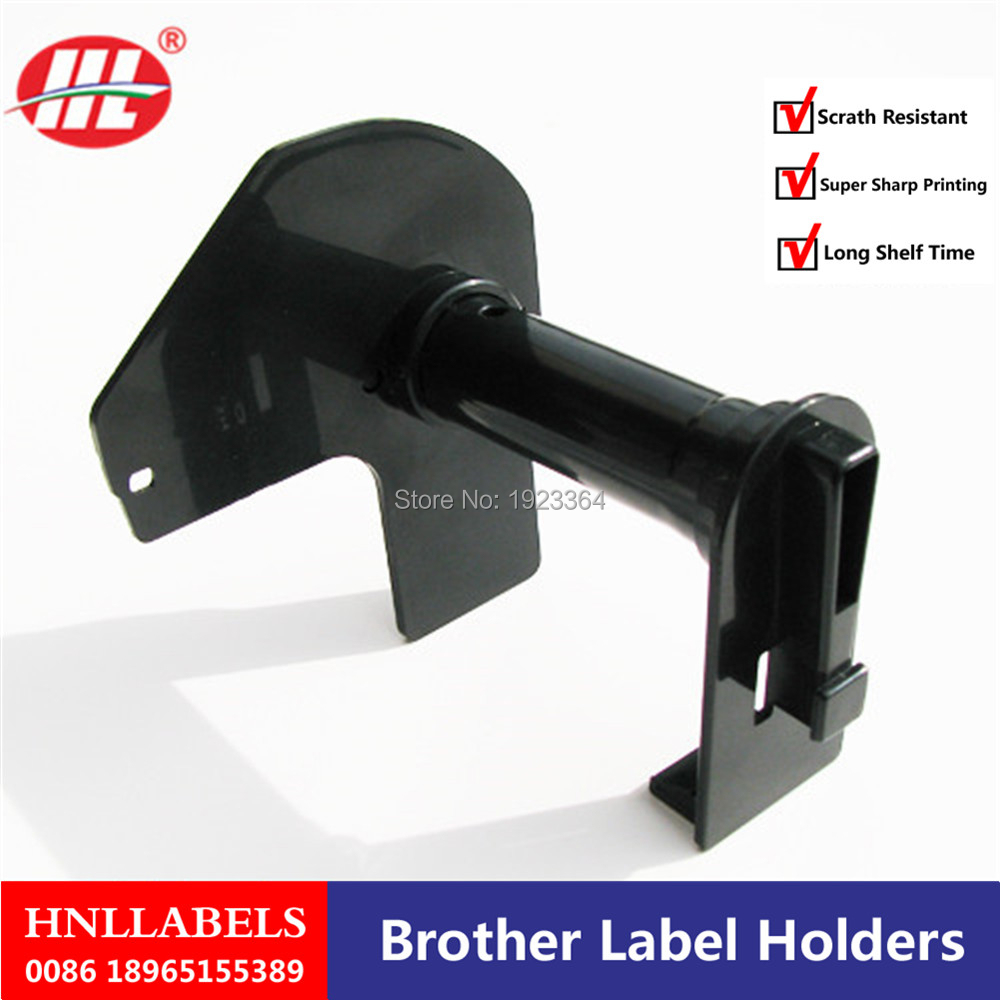 Brother Dk-11202 Dk 11202 Dk11202Black Plastic Reusable  Reusable Frame Excluding Paper Labels Black Reusable Plastic Cartridge