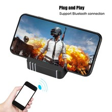 D8 Gamepad Keyboard Mouse Converter Station Bluetooth Adapter Dock Gamepad for PUBG Android Mobile Game Holder no need download(China)