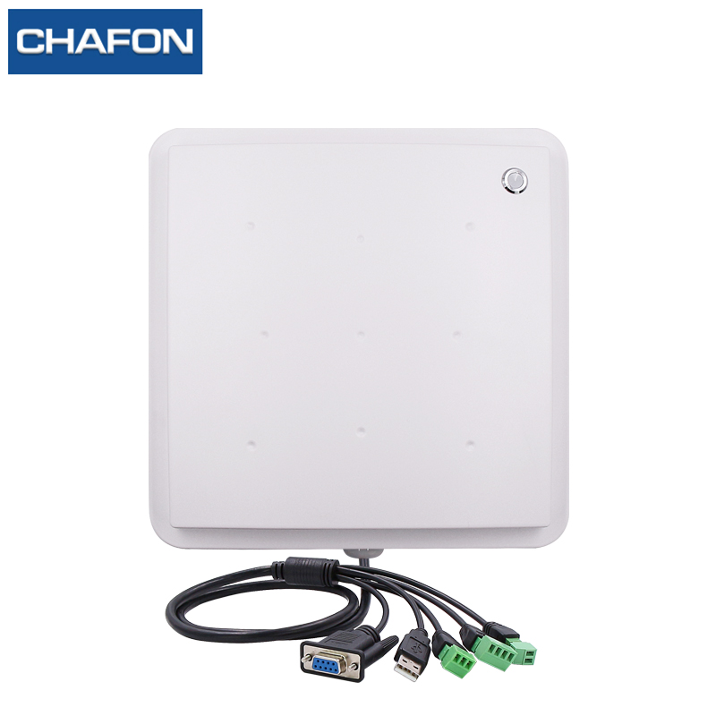 CHAFON 8M mid range uhf rfid integrated reader IP66 RS232 WG26 USB RELAY support firmware upgrade multiple language for parking