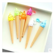 12 pcs/lot lovely personality creative candy color ice cream gel pen Japanese and Korean students stationery gifts
