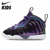 NIKE LITTLE POSITE ONE (TD) Новое поступление Оригинальные Дышащие Детские движения детская обувь кроссовки #723947