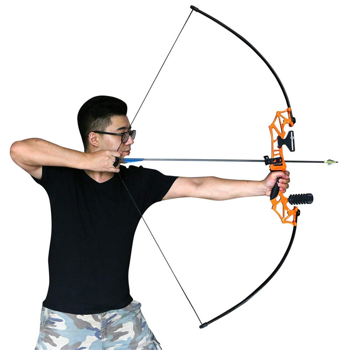 Pliage tir à l'arc professionnel Recurve arc chasse à l'arc en métal Riser 30/40lbs droitier chasse en plein air tir pêche