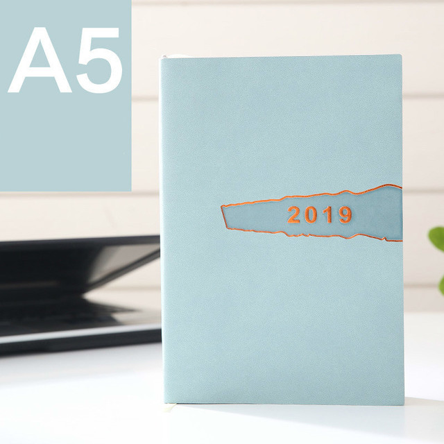 A5 School Office Planner Notebook Personal Diary 2019 Notebook Daily