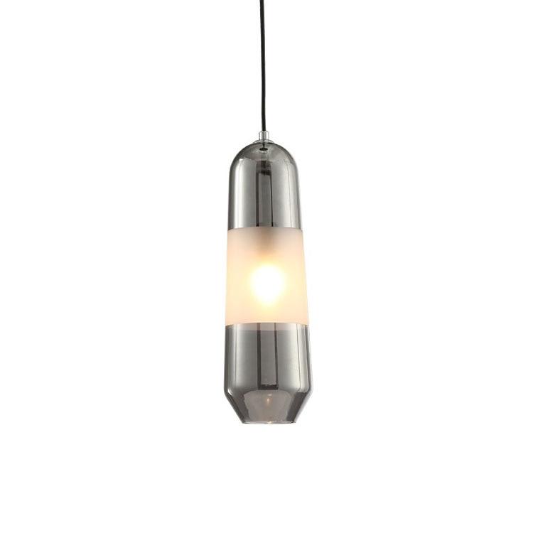 Nordic Postmodern Restaurant Long Glass Chandelier Hotel Room Bedlamp Bar Chandelier Nordic Designer Lamps Pendant Lights