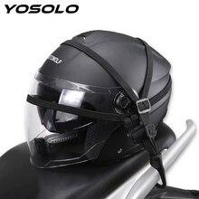 YOSOLO Protective Gears Helmet Net Organizer Holder Luggage