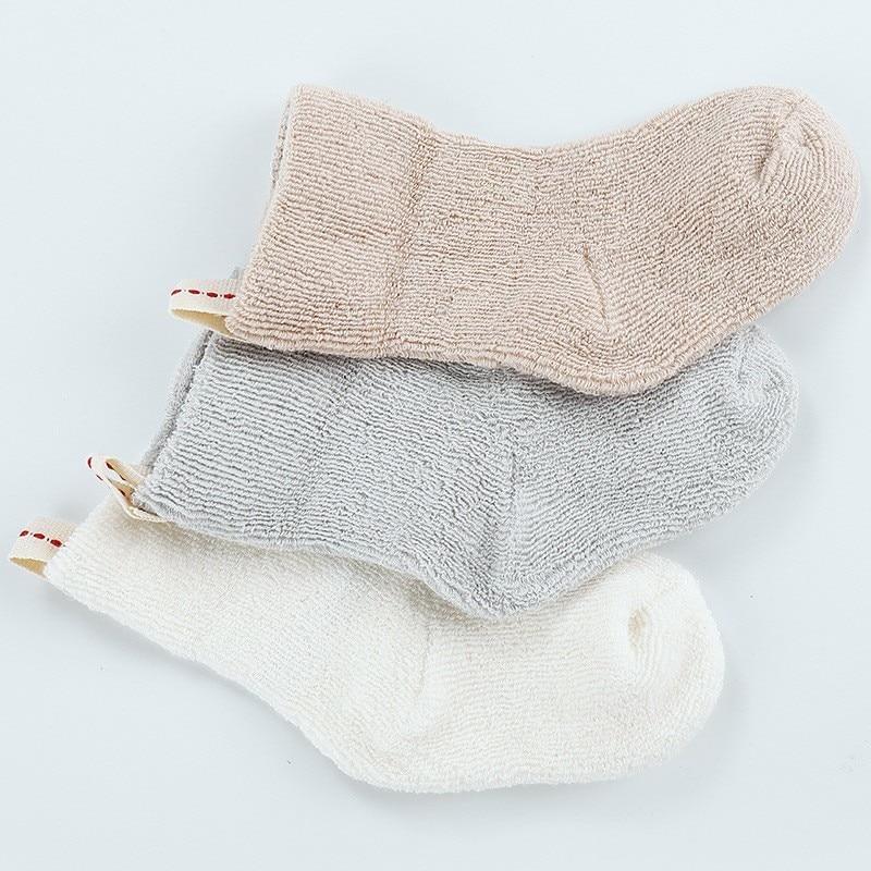 1 Paar Neugeborenen Lytwtw Der Baumwolle Winter Herbst Baby Mädchen Jungen Kinder Socken Kinder Infant Verkauft Terry Warme Hausschuhe Stern Socke Mit Den Modernsten GeräTen Und Techniken