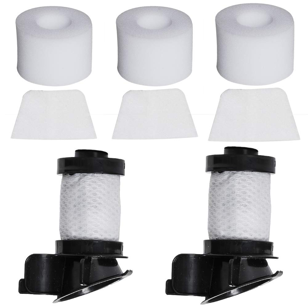 Replacement 2 Hepa Filter & 3 Foam Felt Filter For Shark Ionflex Duoclean Vacuum IR100 IR101 IR70 IF100 IF150 IF160 IF170 IF18