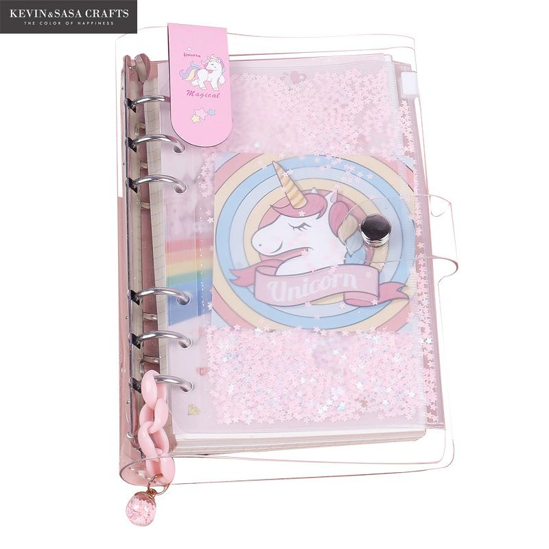 New Unicorn Notebook Quality Bullet Journal Set With Pen Diary Planner Stationery School Supplies Study Notebook Gift Tools