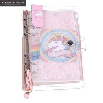 New Unicorn Notebook Quality Journal Set With Pen Diary Planner Stationery School Supplies Study Notebook Gift Tools - DISCOUNT ITEM  40 OFF Education & Office Supplies