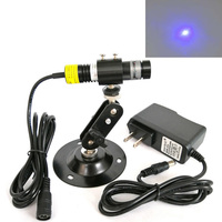 450nm 445nm 80mW Blue Dot Laser Diode Module Lighting Escape Room Haunted House Osram LD in Glass Lens W adapter