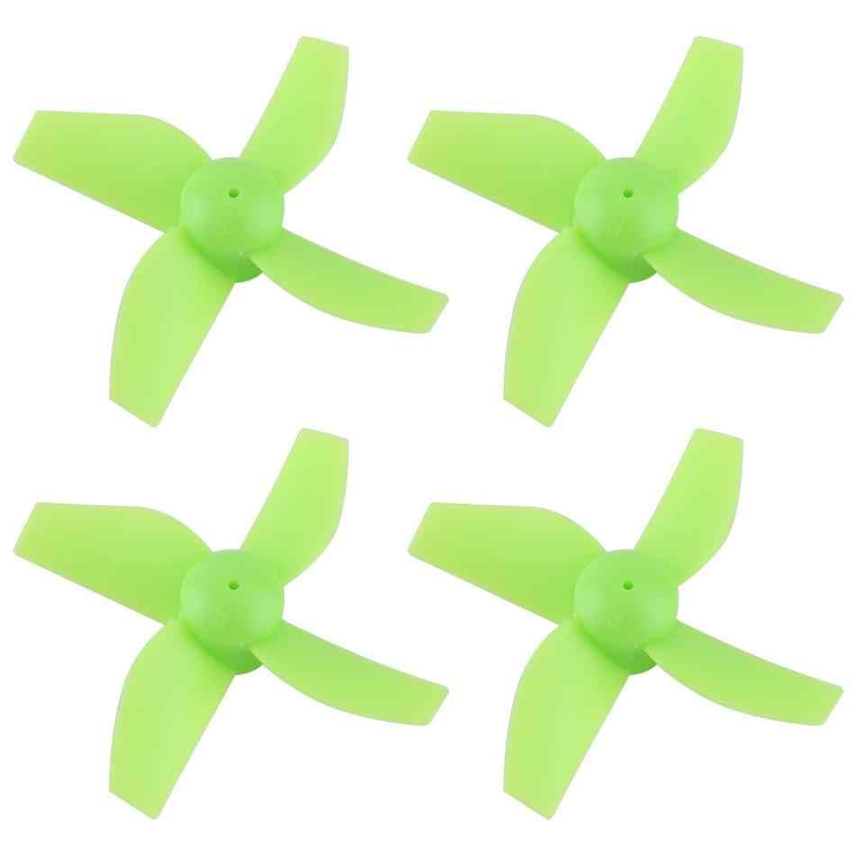 4 stks/set RC Vliegtuig Propeller Duurzaam Vier-blade RC Quadcopter Blades Drone Accessoire Voor H36 E010 Lichtgewicht Vervanging